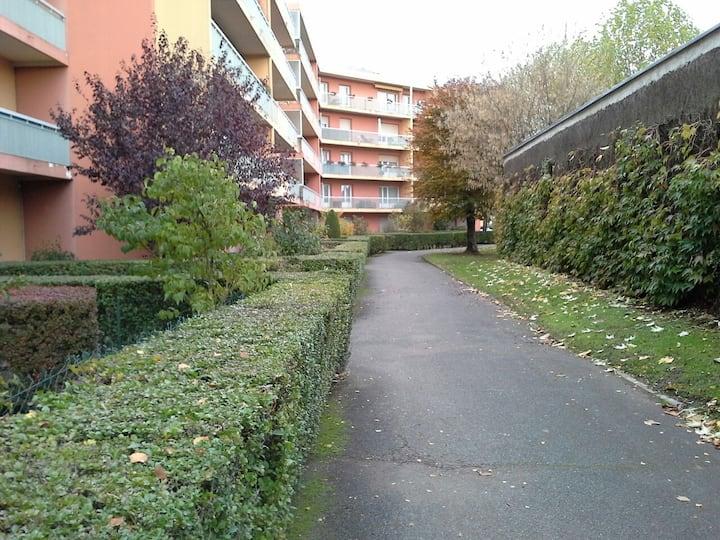 Appartement en résidence, Belfort centre.