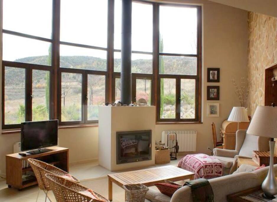 Preciosa casa en un entorno unico cottages louer for Piani casa unico cottage