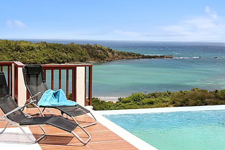 Villa with 5 bedrooms in St Davids, Grenada, with wonderful sea view, private pool, enclosed garden - 3 km from the beach