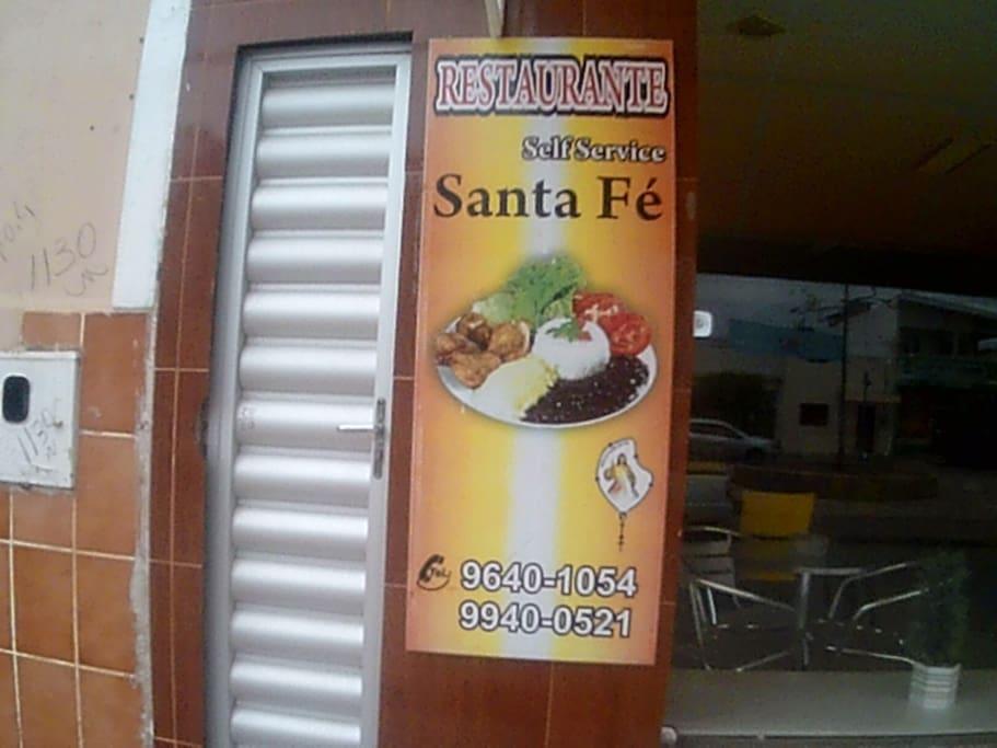 Fachada do Restaurante, bom preço, bom alimento. Fast Food good price.