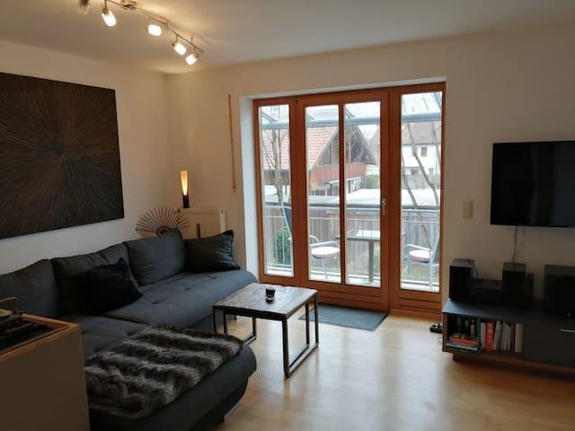 Modernes Apartment, Nähe Messe und München