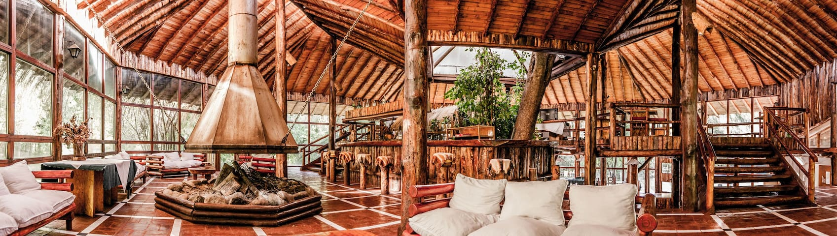 Hotel Melado, Lodge de montaña. Comidas incluidas.