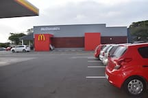 Fast Food - McDonald's Shell Service Station   (800 m - 1 min drive)