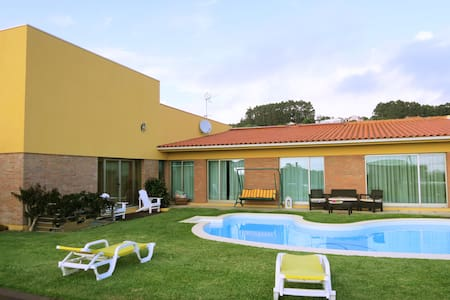 House - private pool and sea view - Terroso - Huis