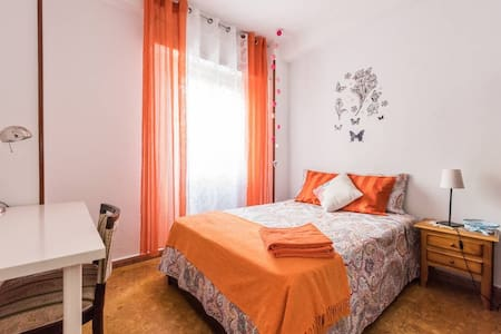 BF1 Bed for  2 person on Madrid+WIFI - Madrid