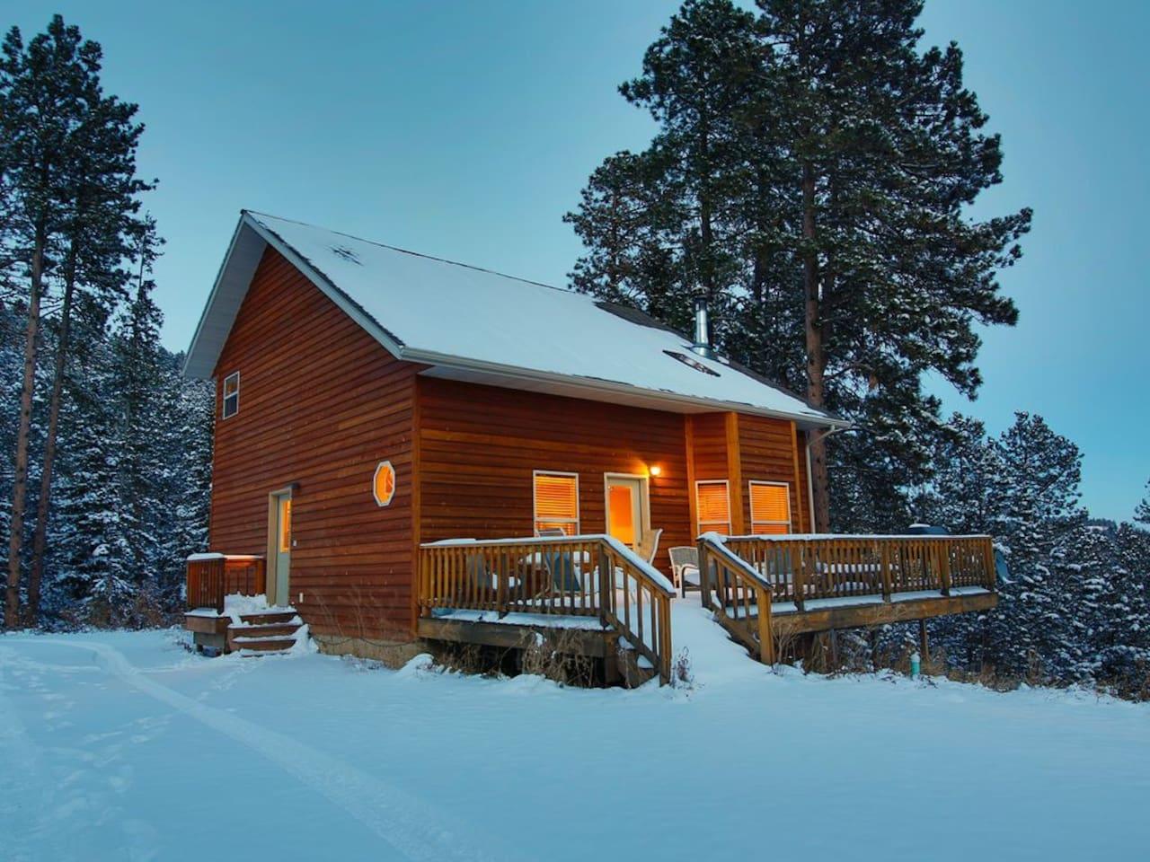 resort accommodation lake sd copy city front south canyon rapid dakota cabins in cabin studio