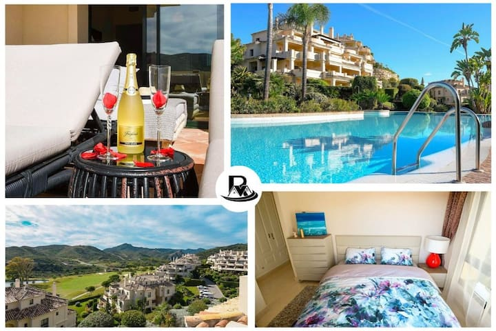 3 Bed Apartment, Netflix, Pool, Golf & Mountains ✔