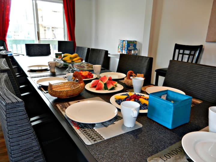 Chambre privée dans appartement à partager