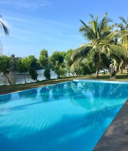 Villa on Island-near Colombo airport and Negombo