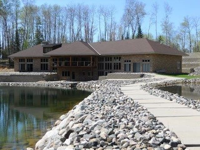 Clubhouse Private Lake Home