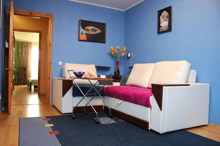 Cozy apartment in the heart of Obolon