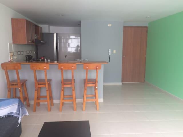 Apartamento amoblado en el centro de Pereira - Pereira - Apartment