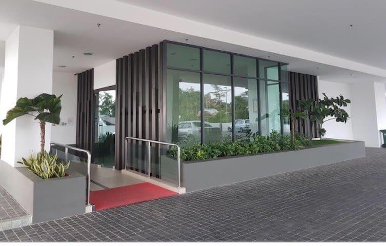 Apartment Main Entrance Lobby