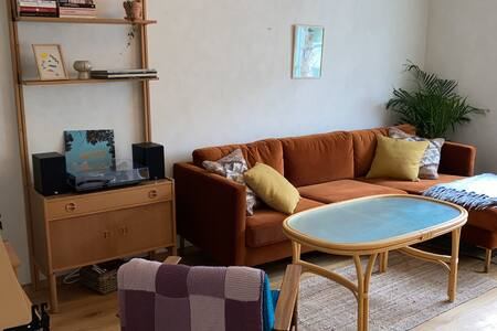 Cosy and spacious flat w balcony in Trondheim