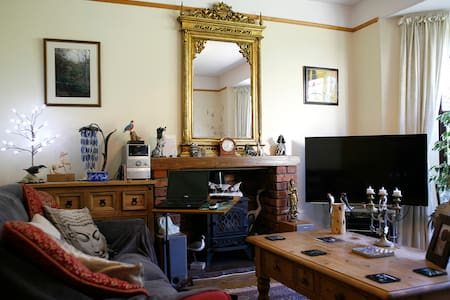 En-suite double room, Llanfairfechan, North Wales. - Llanfairfechan - 一軒家