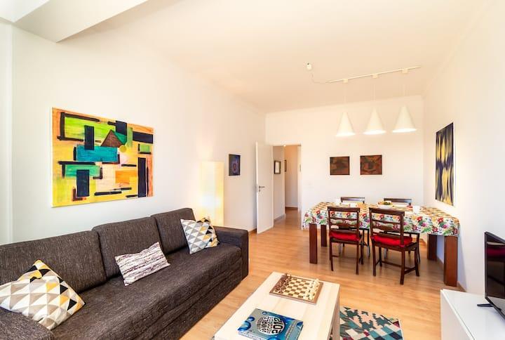 White Apartment - T2 near BEACH