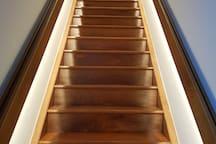 Escada acesso a suíte