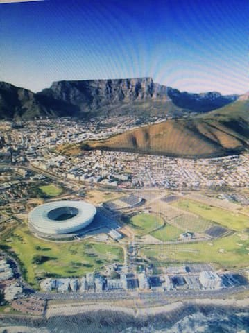 Lovely city and sunny - Cape Town - Daire
