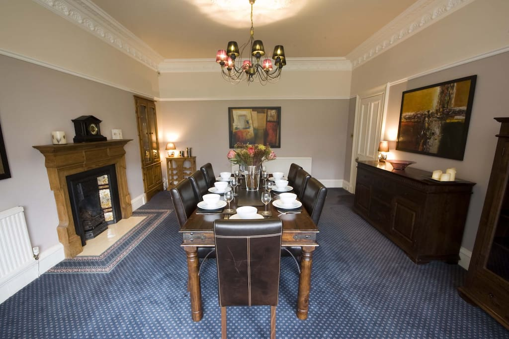 Large dining room - perfect for celebrating a special occasion!