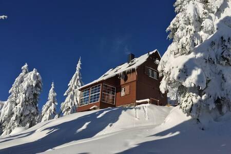 Die Adlerhütte - Oberwiesenthal - Casa