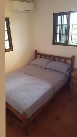 Comfortable bedrooms with brand new AC