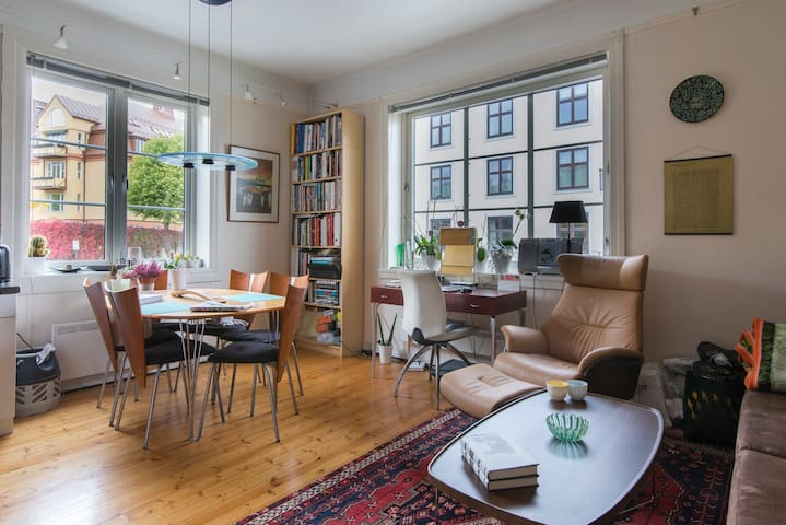 Charming Norwegian apartment close to center - Oslo