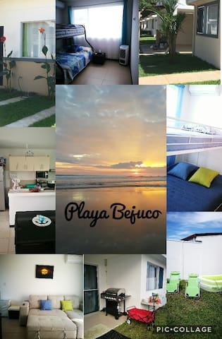 Casa  privada Full Condominio frente Playa Bejuco