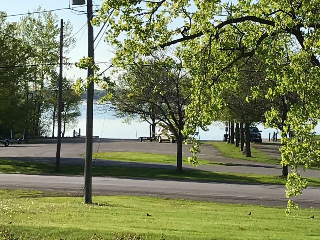 View of from house Herchimer Ave Public Boat Launch