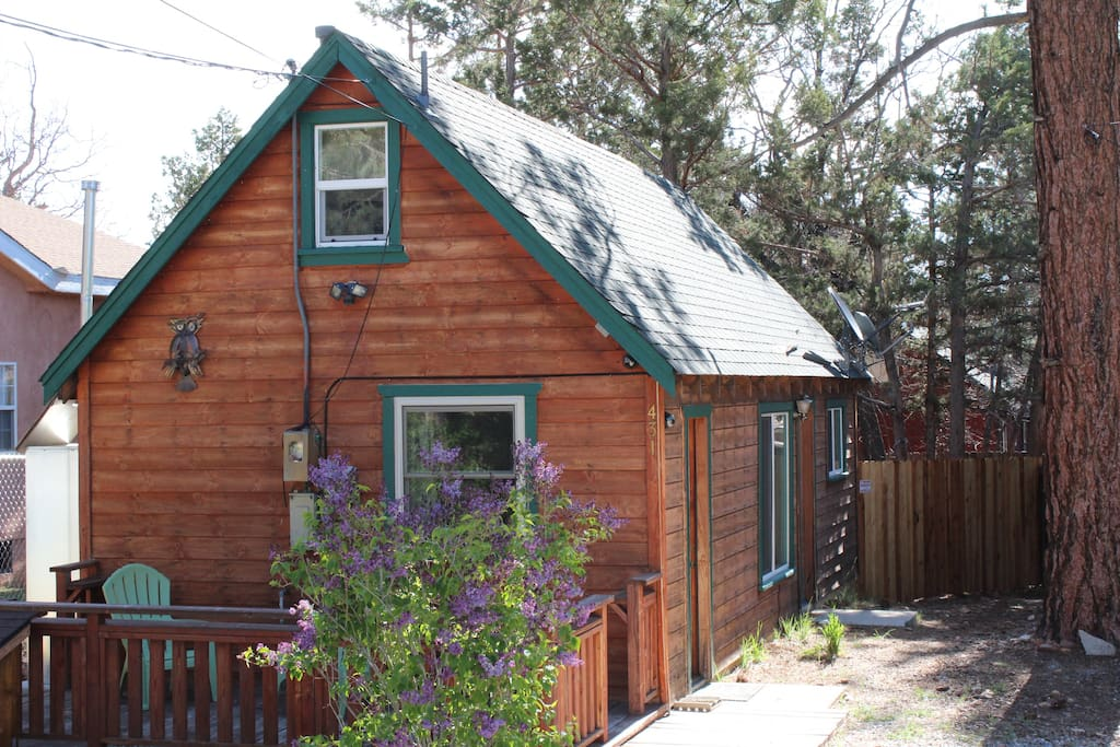 Big bear air heat unit upgraded boutique cabin cabins for Big bear cabins california
