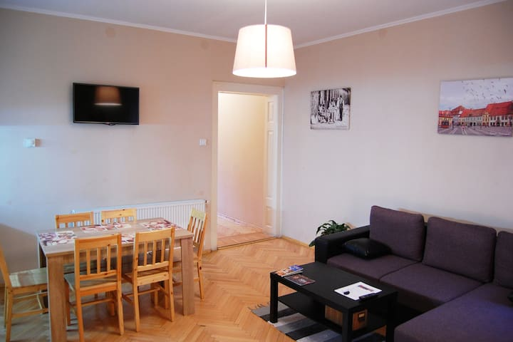 Jules' sunny, spacious and central apartment