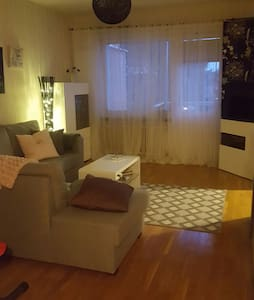 Living room in my charming apartmen - Jakobsberg - アパート