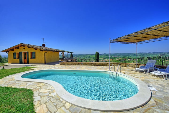 Villa Roberto - Vacation Rental with private swimming pool in Chianti, Tuscany