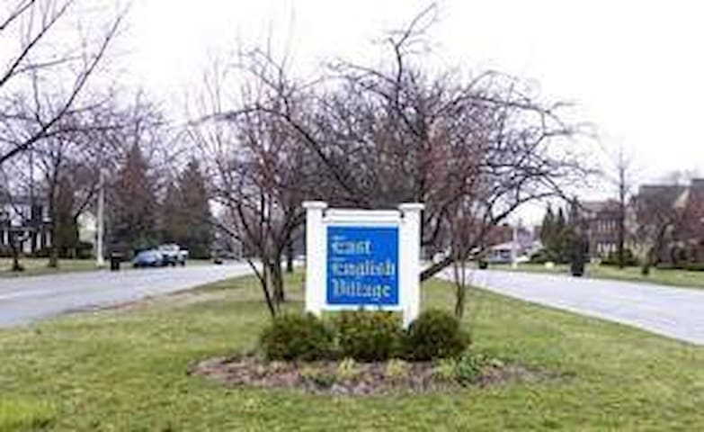 East English Village -   Bordering affluent Grosse Pointe on the east side.  EEV offers a racially diverse stable neighborhood to appreciate visiting in Detroit.