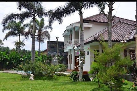 Villa Fayendra is the luxury villa in town.