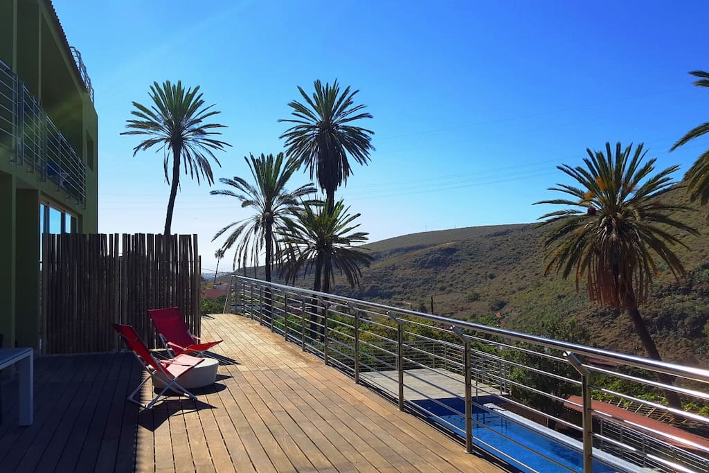 New. Holidays Flats Finca Oasis in Telde