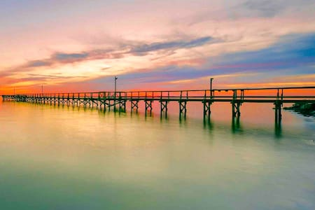 """Private Pier, """"Trophy Trout"""" Cottage on Copano Bay"""