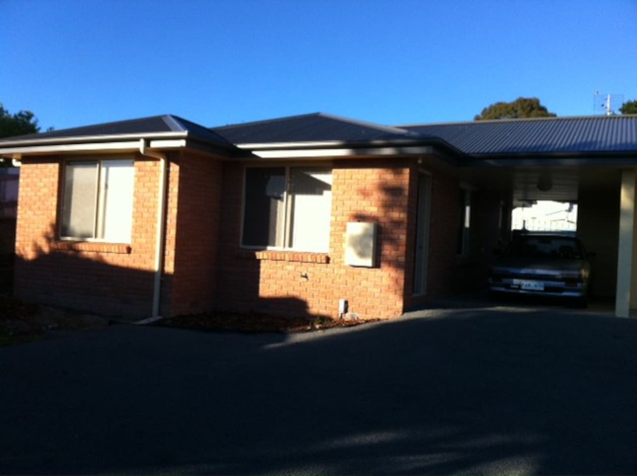 Sunny Modern 2 bedroom units with own car space opposite the local park.