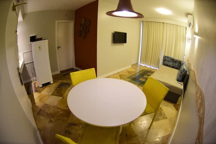 Resort Suítes - Apto Confortável VISTA MAR II