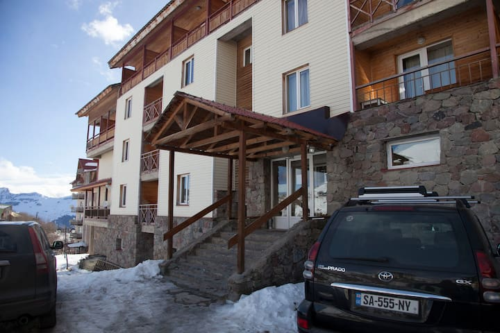 Cozy apartment in heart of Gudauri