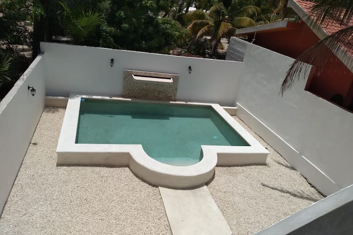 Brand new 2 bedroom 2 bath with pool and waterfall