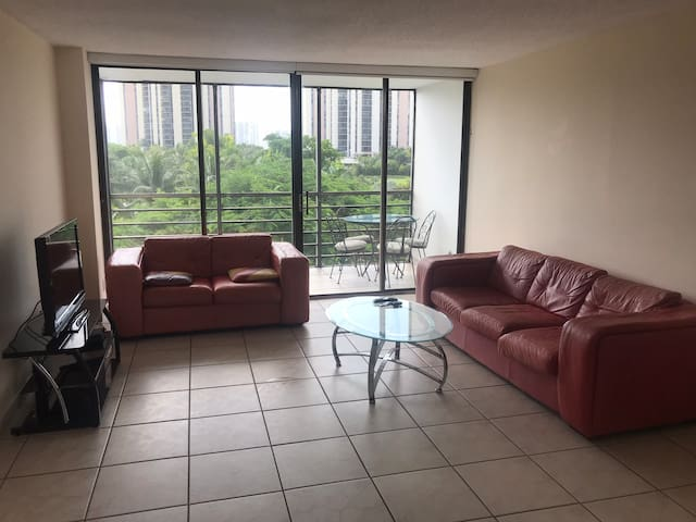 1 Bedroom/2 Bathroom Aventura apartment w. Kitchen