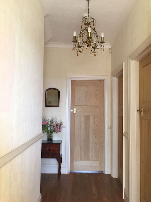 Private entrance hall to your own private bedroom and bathroom.