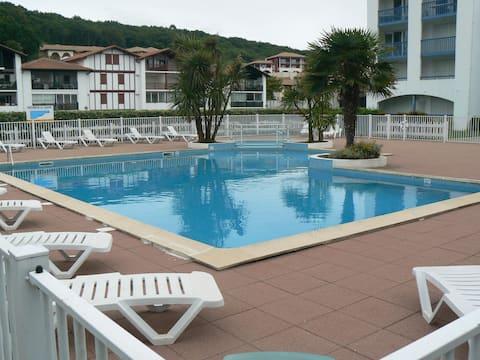 Saint Jean de Luz - Socoa T2 duplex plage à 300m