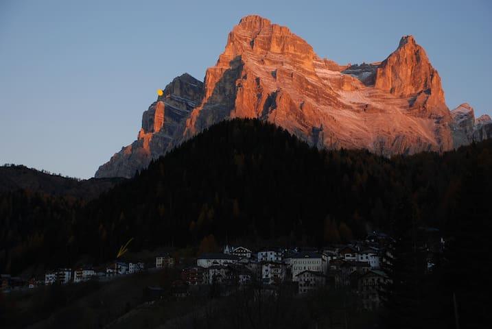 Casa Sagui situata nel cuore delle Dolomiti - Zoppe' di Cadore - Appartement