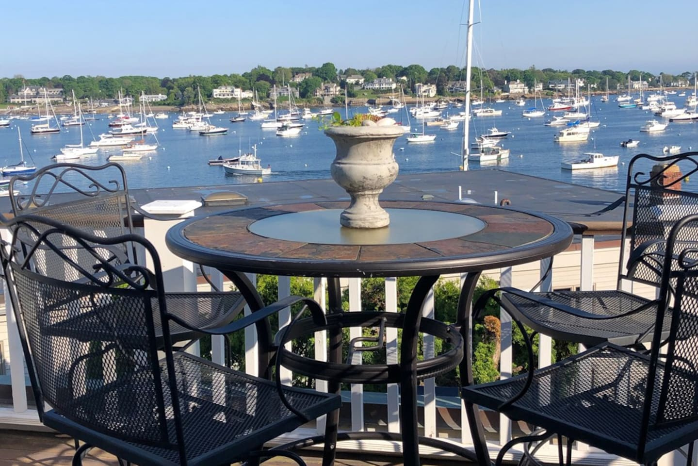 2 story Beautifully Decorated unit with Deluxe views of the harbor from both floors!