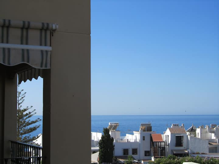Penthouse Milenio private roof terrace in Nerja.