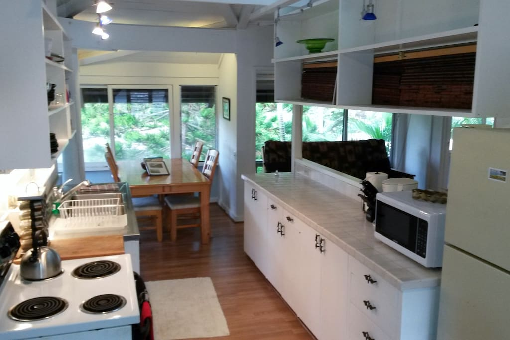 Kitchen and Seating (right)