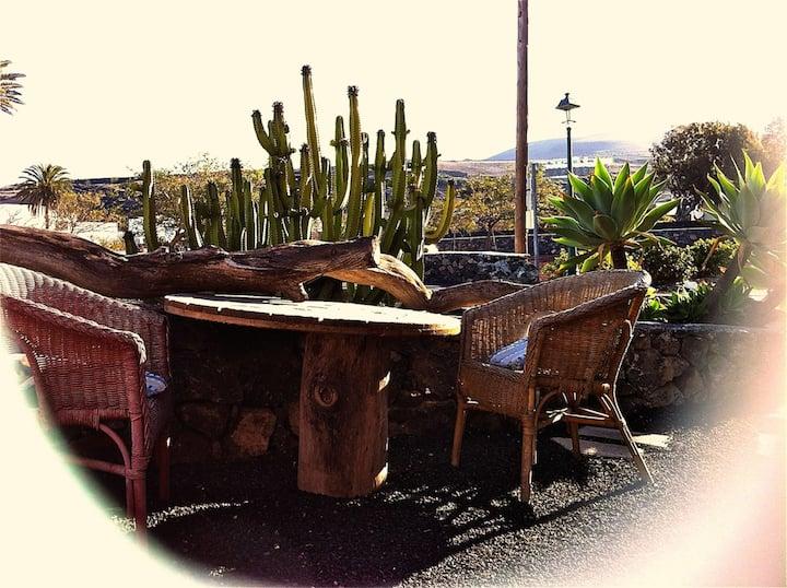 El Terrero – La Geria, Rural House La Finca Uga