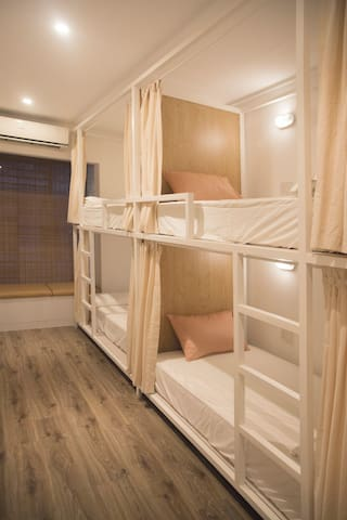 Designed Space | Bunk bed & Breakfast | 8 beds