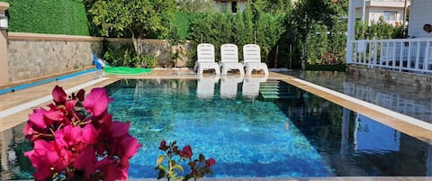 Private villa 3+1 ideal for family fethiye